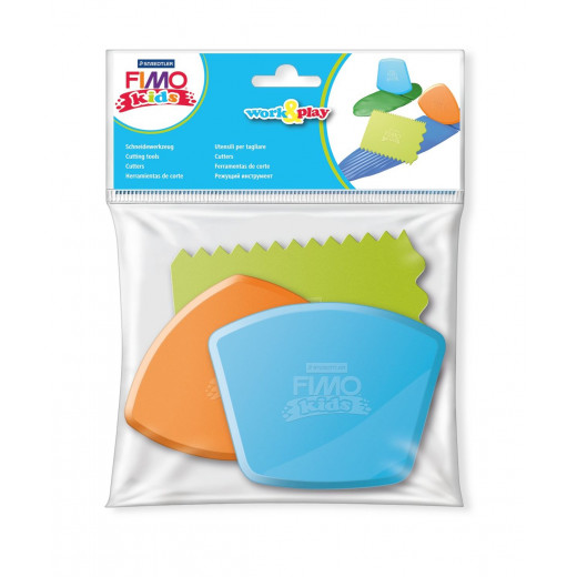 Staedtler FIMO® Kids 8700 Work&Play - Accessories, 3 Pieces