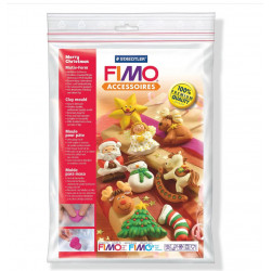 Staedtler FIMO® 8742 Clay Mould, Merry Christmas