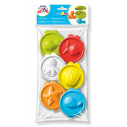 Staedtler FIMO® Kids Work&Play Hinged Moulds, Sealife