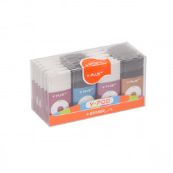 Y. Plus I.Pod Eraser- Assorted Colors- Pack of 24 Pieces