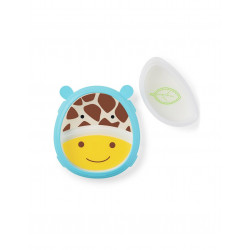 Skip Hop Zoo Smart Serve Non-Slip Training Set, Giraffe