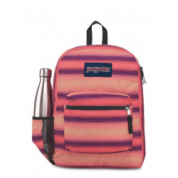 JanSport Cross Town Backpack, Sunset Stripe
