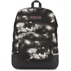 JanSport Black Label Superbreak Backpack, Lighting Clouds