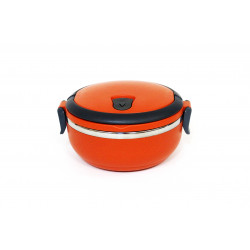 Lunch Box with One Layer Stainless Steel 700 ml, Orange