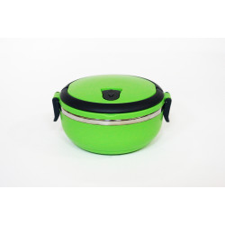 Lunch Box with One Layer Stainless Steel 700 ml, Green