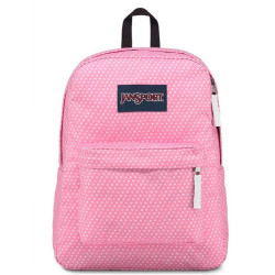 JanSport SuperBreak Backpack, Prism Pink Icons