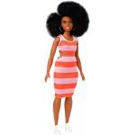 Mattel Barbie Fashionistas Curny Doll With Black Hair
