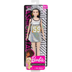 Mattel Barbie Fashionistas Doll Dress Los Angeles