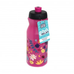 Cool Gear Vip Back Bottle with Freeze Stick, Pink, 650ml