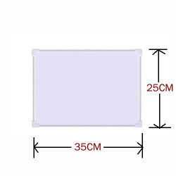 Double Sided Magnetic Whiteboard with Aluminium Frame 25x 35cm