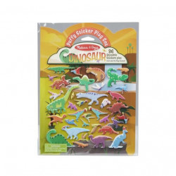 Melissa & Doug Reusable Puffy Sticker Kit- Dinosaurs