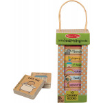 Melissa & Doug Natural Play Book Tower: Little Learning Books