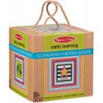 Melissa & Doug Natural Play Early Learning, Stacking & Nesting Blocks