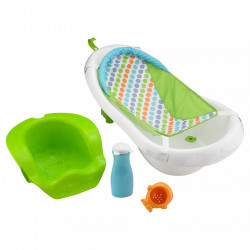 4 Stage Newborn to Toddler Baby Bath