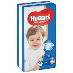 Huggies Jumbo Size(4) 8-14KG 40 Diapers