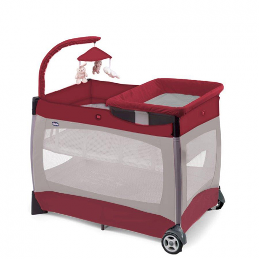 Chicco Lullaby Easy Playard Red Wave