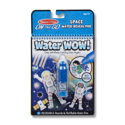 Melissa & Dough Water Wow! Space Water-Reveal Pad - On the Go Travel Activity