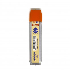 Amigo Pencil leads 0.5 60mm lead thickness HB Office / stationery 20x each