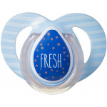 Tommee Tippee Moda Soother, 6-18 months, Turquoise & Blue