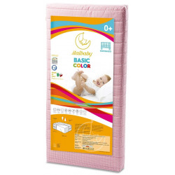Italbaby Basic Color Mattress Bed 60x125 Cm