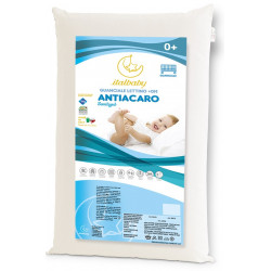 Italbaby Anti-mite Pillow Bed Cm 38x58x5h