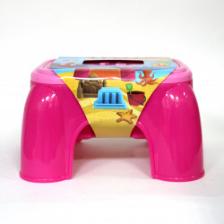 3D Play Dough Table, with 36 Dough, Pink