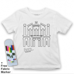 Mlabbas Petra Kids Coloring Tshirt - 7-8 years