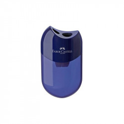 Faber Castell Sharpener Double Hole, Blue