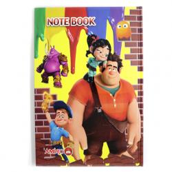 Amigo Wreck It Ralph Cardboard Notebook 100 Sheet, B5