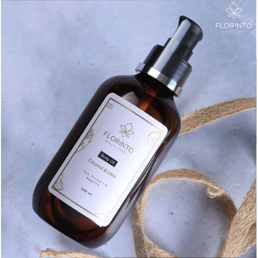 Florinto Coconut & Lime Body Oil