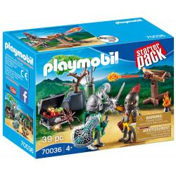 Playmobil Starterpack Knight's Treasure Battle 39 Pcs For Children