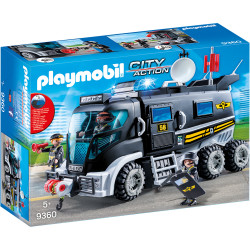 Playmobil Tactical Unit Truck For Children