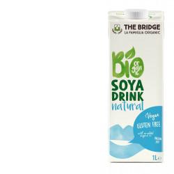 The Bridge Brazil Soy Drink Natural 1L, Organic