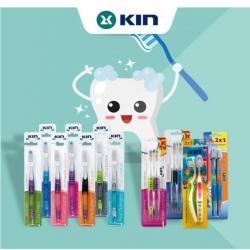 Kin Toothbrush for Kids Children's, +3 years