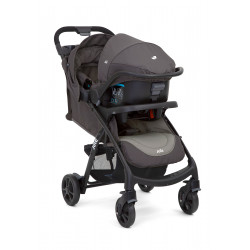 Joie Muze Travel System - Dark Pewter