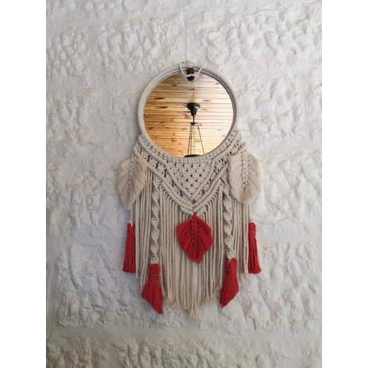 Tala's Made Macrame Mirror Dream Catcher, 20 cm