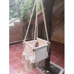 Tala's Made Macrame Baby Swing