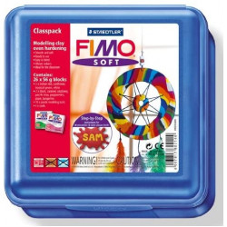 Staedtler Fimo LX Soft  Box Pack of 26 Colors