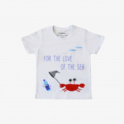 The Orenda Tribe The Crab Kids Coloring T-shirt, 4 years