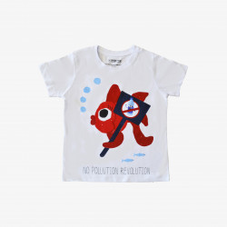 The Orenda Tribe The Fish Kids Coloring T-shirt, 10 years