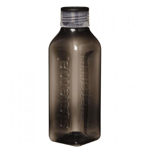 Sistema Hydrate Square  Bottle, 1 L - Black
