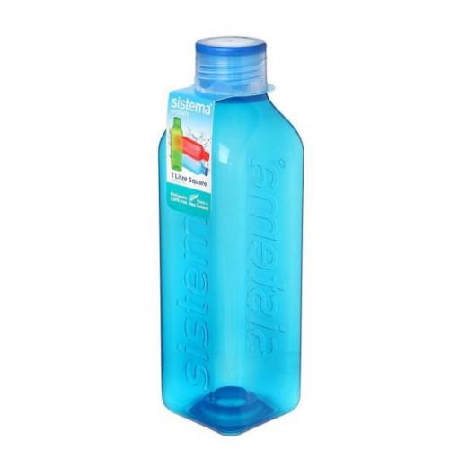Sistema Hydrate Square  Bottle, 1 L - Blue