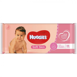 Huggies Wipes Soft Skin 56