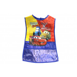 Wax Apron  for Artwork, Blue , Red and Yellow