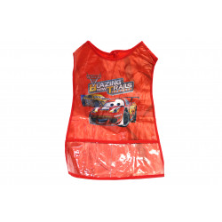 Wax Apron  for Artwork, Red , Cars Design