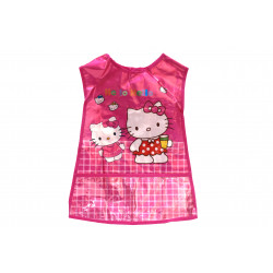 Wax Apron  for Artwork, Pink , Lolo Caty Design