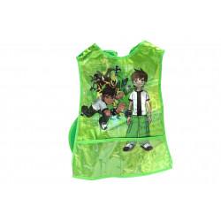 Wax Apron  for Artwork, Green , Ben 10 Design
