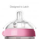 Comotomo Baby Bottle, Pink, 8 Ounce / 250 ml