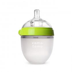 Comotomo Baby Bottle, Green, 150 ml
