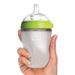 Comotomo Baby Bottle, Green, 8 Ounce / 250 ml